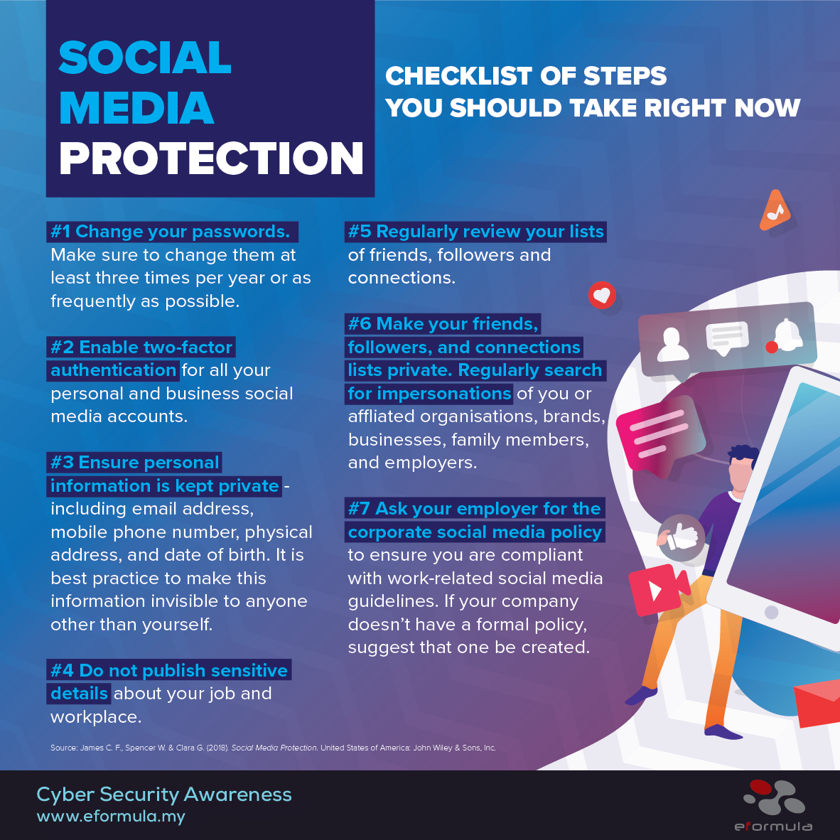 social media protection: Checklist of steps you should take right now